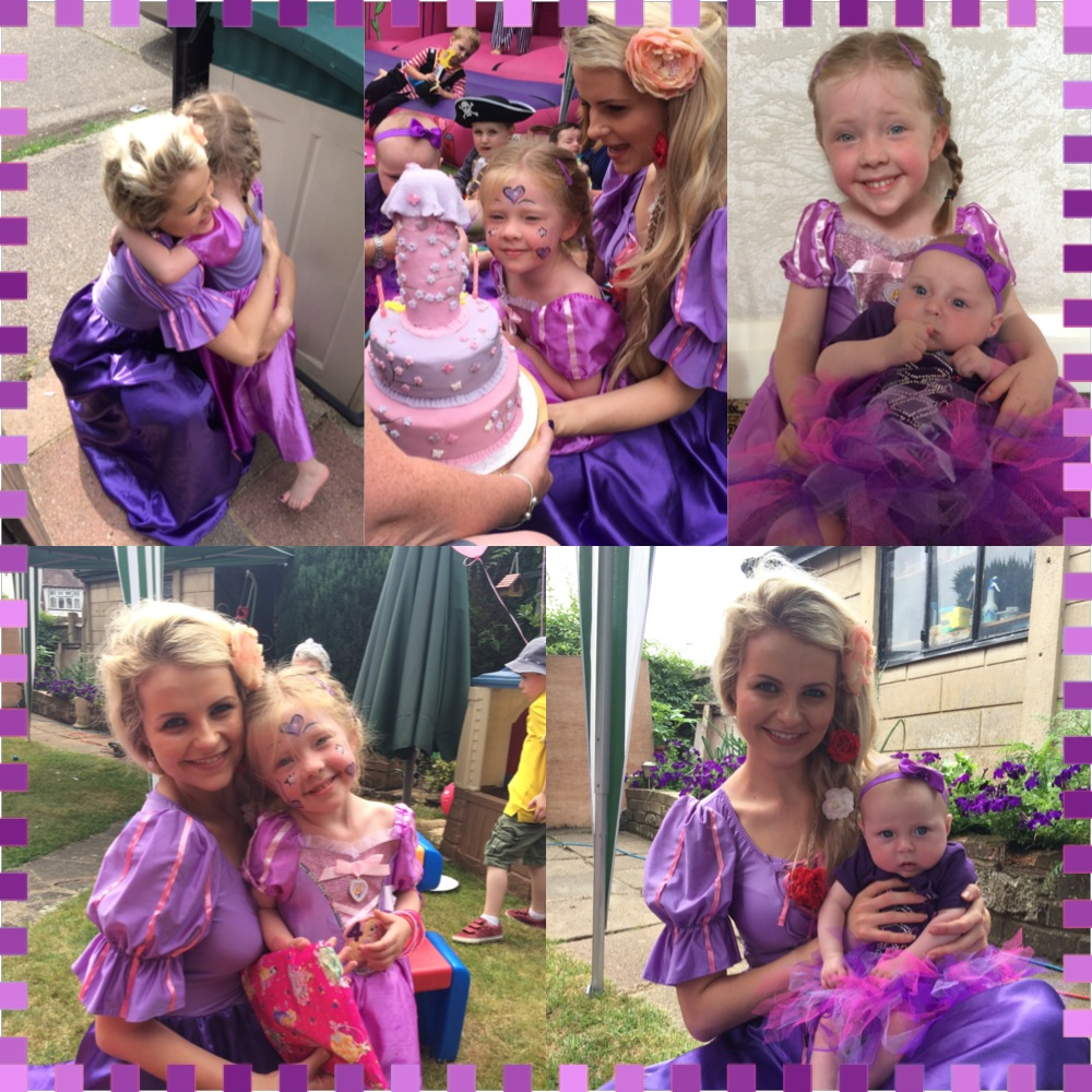 Rapunzel and Bday Girl 2
