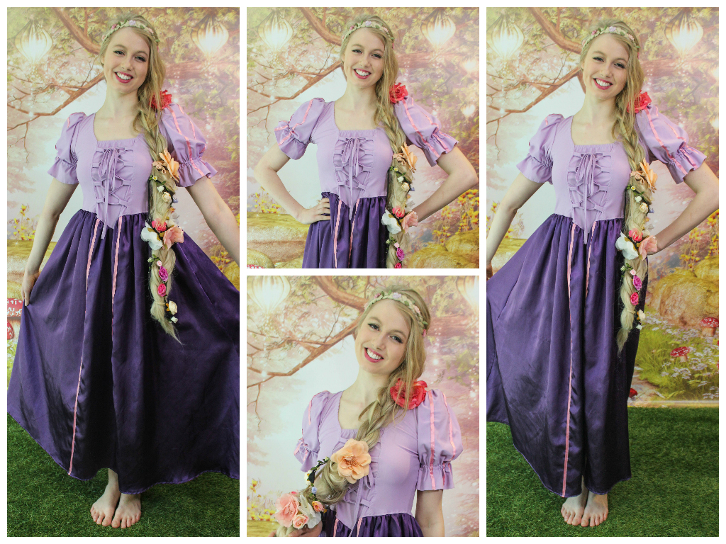 Milly Rapunzel collage