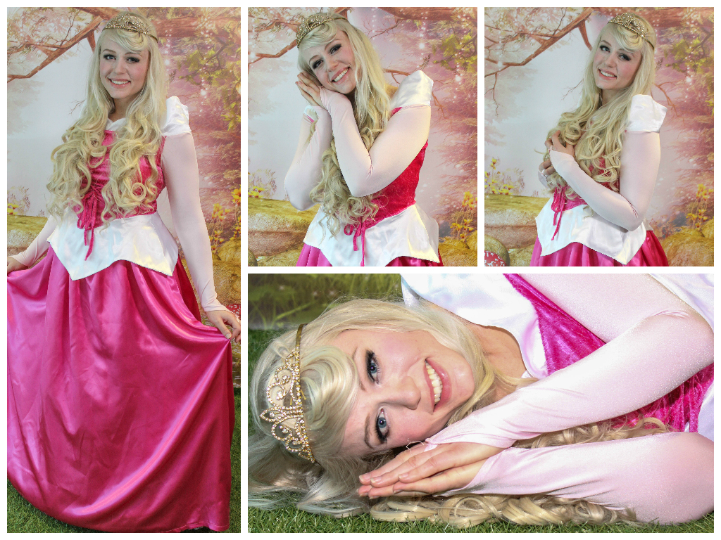 Sleeping Beauty Collage Lauren